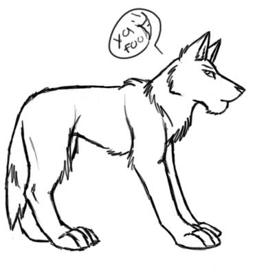 Wolf Body Diagram